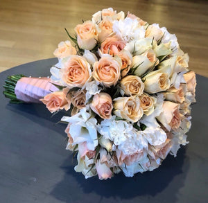 """Romantic "" bridal bouquet"