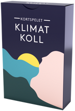 Load image into Gallery viewer, Kortspelet Klimatkoll