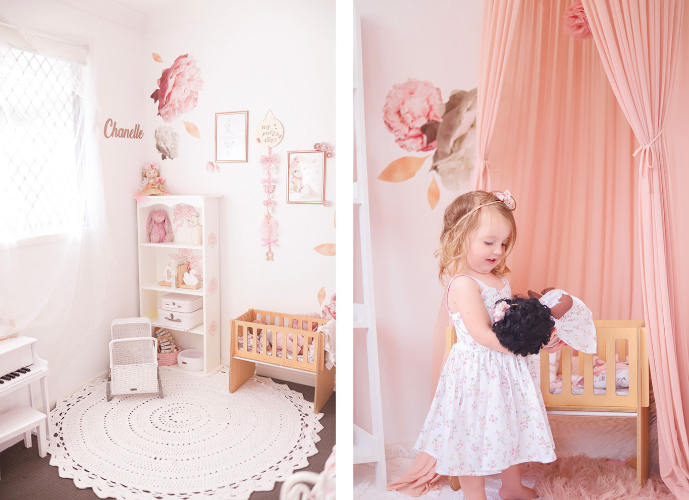 Pink room fit for princess