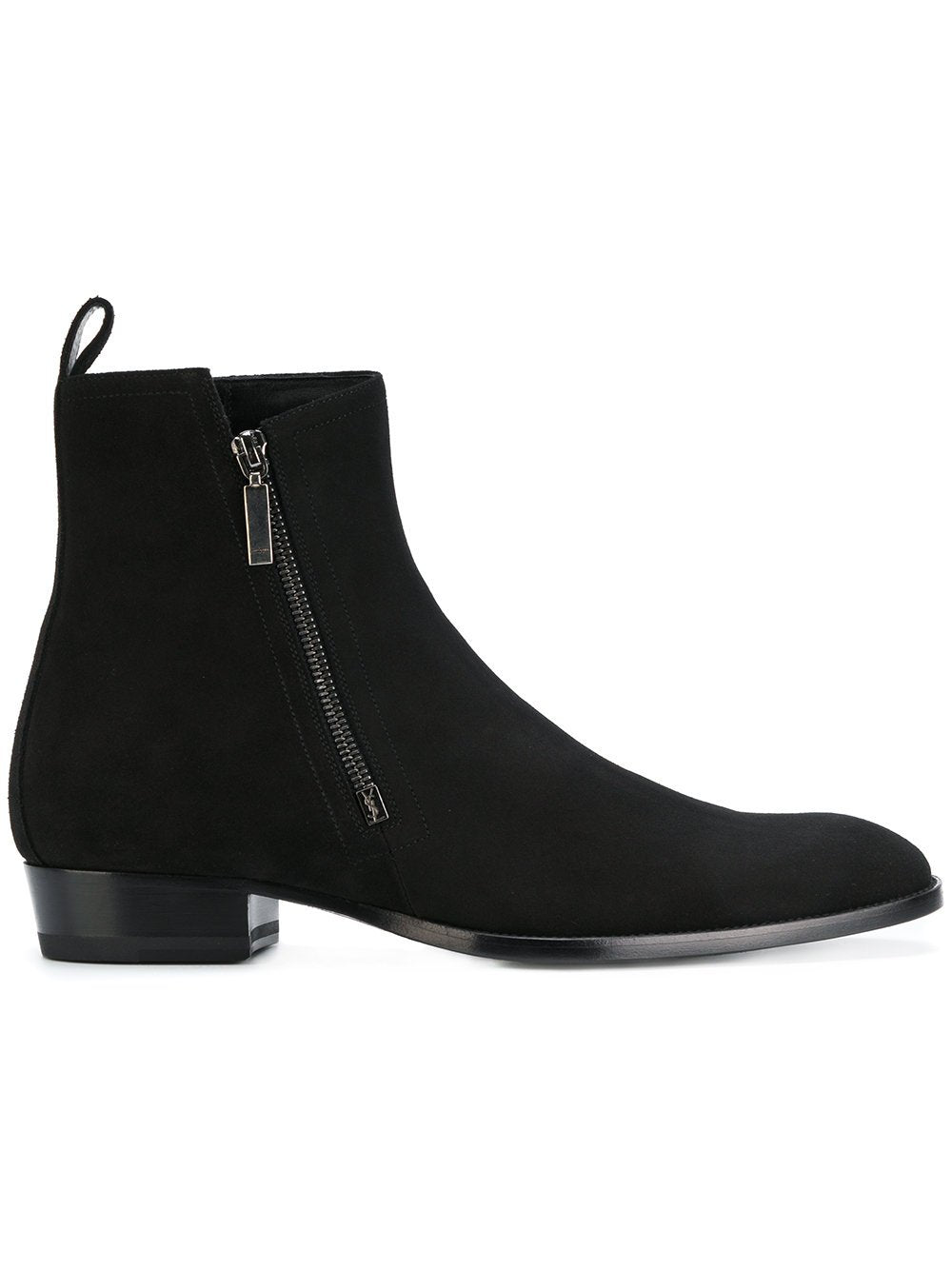Saint Laurent Wyatt   Boots Black