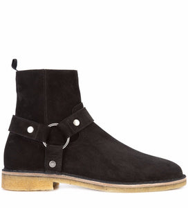 Saint Laurent Nevada 20 Harness Boot Black