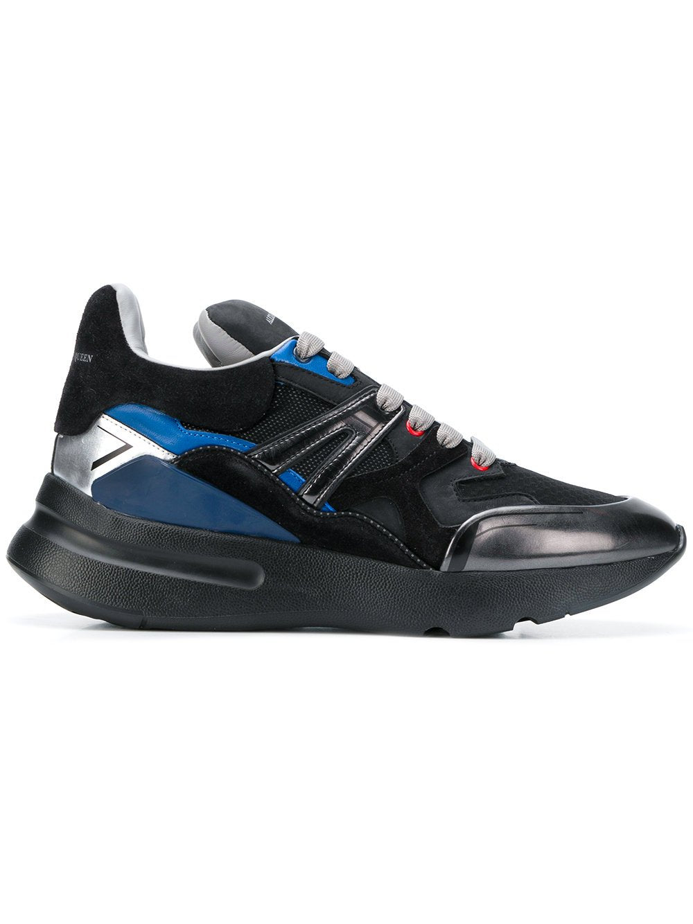 Alexander McQueen Running Sneaker Multi Cocktail Black