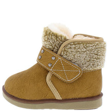 Load image into Gallery viewer, Faux Fur Lined Fleece Ankle Infant Boot