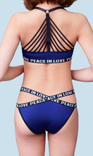 Load image into Gallery viewer, Sublimie : Bra & Panty Set Blue - Sporter