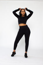 Load image into Gallery viewer, All Black  Leggings