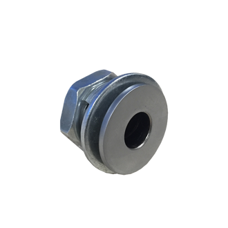 Magnetic threaded socket