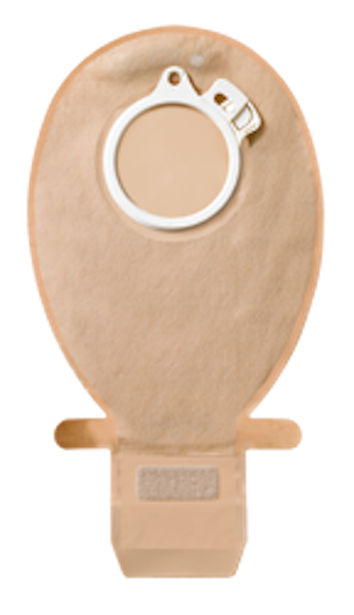 "Coloplast Sac Vidable Sensura Click Avec Fermoir Easiclose Maxi Beige Avec Filtre 40mm (1""9/16)"