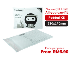 Padded Ninja Packs Bundle XS size