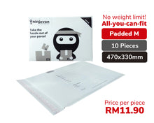 Load image into Gallery viewer, 10 Pieces Padded Ninja Packs Bundle M size