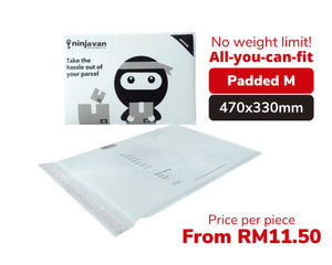 Padded Ninja Packs Bundle M size