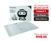 Muatkan gambar ke penampil Galeri, 10 Pieces Padded Ninja Packs Bundle S size