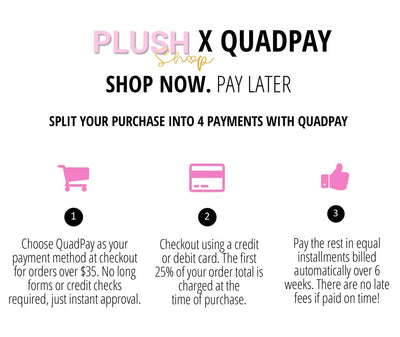 WE NOW HAVE QUADPAY💗