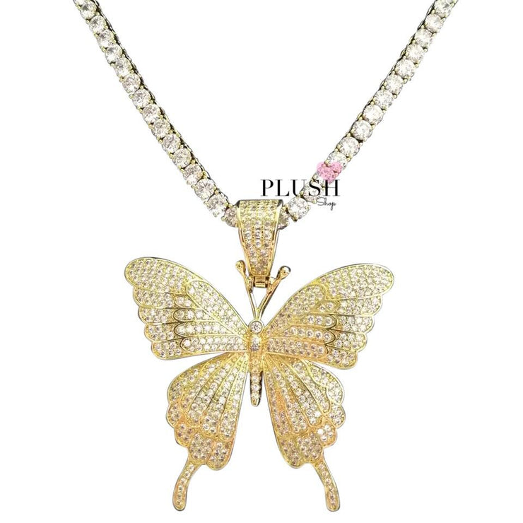 ICONIC Butterfly + (Tennis Chain)