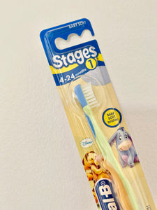 Oral B Stage 1 Toothbrush Ages 4-24 months