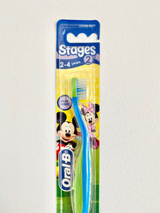 Oral B Stage 2 Toothbrush 2-4 years