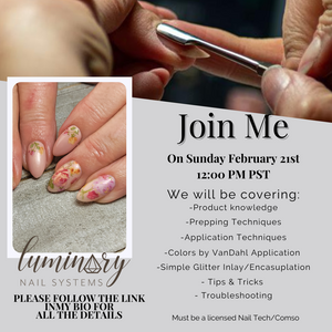 February 21st IG Live Class Luminary Structured Manicure