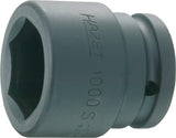 HAZET Impact socket (6-point) 1000S-27 ∙ Square, hollow 20 mm (3/4 inch) ∙ Outside hexagon profile ∙ 27 mm