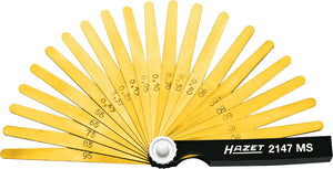 HAZET Feeler gauge 2147MS ∙ 0.05 – 1.0