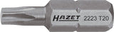HAZET Bit 2223-T40 ∙ Hexagon, solid 6.3 (1/4 inches) ∙ Inside TORX® profile ∙∙ T40