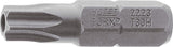 HAZET Bit 2223-T15H ∙ Hexagon, solid 6.3 (1/4 inches) ∙ Tamper-resistant TORX® profile ∙∙ T15H