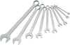 HAZET Combination wrench set 600NA/10 ∙ Outside 12-point profile ∙∙ 1⁄4 – 1 ∙ Number of tools: 10