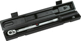 HAZET Torque wrench 6121-1CT ∙ Nm min-max: 20 – 120 Nm ∙ Tolerance: 2% ∙ Square, solid 12.5 mm (1/2 inch)