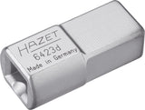 HAZET Insert adapter 6423D ∙ Insert square 14 x 18 mm ∙ Insert square 9 x 12 mm