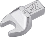 HAZET Insert open-end wrench 6450C-10 ∙ Insert square 9 x 12 mm ∙ Outside hexagon profile ∙ 10 mm