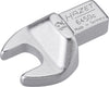 HAZET Insert open-end wrench 6450C-12 ∙ Insert square 9 x 12 mm ∙ Outside hexagon profile ∙ 12 mm