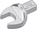 HAZET Insert open-end wrench 6450C-14 ∙ Insert square 9 x 12 mm ∙ Outside hexagon profile ∙ 14 mm