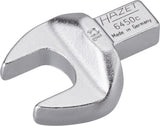 HAZET Insert open-end wrench 6450C-16 ∙ Insert square 9 x 12 mm ∙ Outside hexagon profile ∙ 16 mm