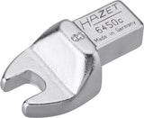 HAZET Insert open-end wrench 6450C-8 ∙ Insert square 9 x 12 mm ∙ Outside hexagon profile ∙ 8 mm