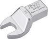 HAZET Insert open-end wrench 6450D-14 ∙ Insert square 14 x 18 mm ∙ Outside hexagon profile ∙ 14 mm