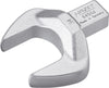 HAZET Insert open-end wrench 6450D-34 ∙ Insert square 14 x 18 mm ∙ Outside hexagon profile ∙ 34 mm