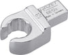 HAZET Insert box-end wrench (open) 6612C-13 ∙ Insert square 9 x 12 mm ∙ Outside 12-point profile ∙ 13 mm