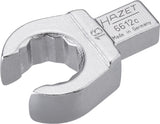 HAZET Insert box-end wrench (open) 6612C-16 ∙ Insert square 9 x 12 mm ∙ Outside 12-point profile ∙ 16 mm