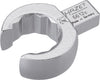 HAZET Insert box-end wrench (open) 6612C-21 ∙ Insert square 9 x 12 mm ∙ Outside 12-point profile ∙ 21 mm