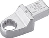 HAZET Insert box-end wrench 6630D-14 ∙ Insert square 14 x 18 mm ∙ Outside 12-point traction profile ∙ 14 mm