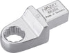 HAZET Insert box-end wrench 6630D-15 ∙ Insert square 14 x 18 mm ∙ Outside 12-point traction profile ∙ 15 mm