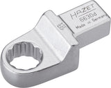 HAZET Insert box-end wrench 6630D-16 ∙ Insert square 14 x 18 mm ∙ Outside 12-point traction profile ∙ 16 mm