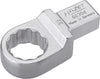 HAZET Insert box-end wrench 6630D-22 ∙ Insert square 14 x 18 mm ∙ Outside 12-point traction profile ∙ 22 mm