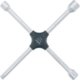 HAZET Four-way rim wrench 705V-02 ∙ Outside hexagon profile ∙ 17 x 19 x 22 x Outside square drive 12.5 = 1/2 inch mm ∙ 17 x 19 x 22 x 3