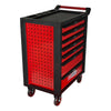 RACINGline BLACK/RED tool cabinet with 7 drawers