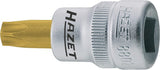 HAZET Screwdriver socket TORX® 8802-T27 ∙ Square, hollow 10 mm (3/8 inch) ∙ Inside TORX® profile ∙∙ T27
