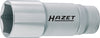 HAZET Socket (6-point) 880LG-16 ∙ Square, hollow 10 mm (3/8 inch) ∙ Outside hexagon Traction profile ∙ 16 mm