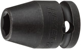 HAZET Impact socket (6-point) 880S-8 ∙ Square, hollow 10 mm (3/8 inch) ∙ Outside hexagon Traction profile ∙ 8 mm