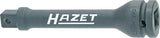 HAZET Impact extension 9005S-5 ∙ Square, hollow 12.5 mm (1/2 inch) ∙ Square, solid 12.5 mm (1/2 inch)