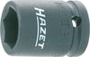 HAZET Impact socket (6-point) 900S-24 ∙ Square, hollow 12.5 mm (1/2 inch) ∙ Outside hexagon Traction profile ∙ 24 mm