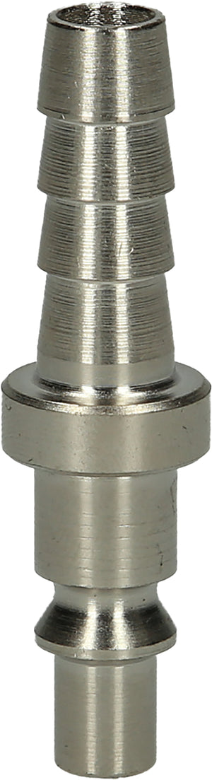 Metal air inlet connector with hose tail, Ø 10mm, 58,5mm