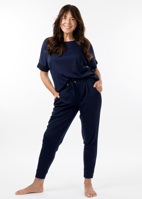 eaden loungewear pant in navy